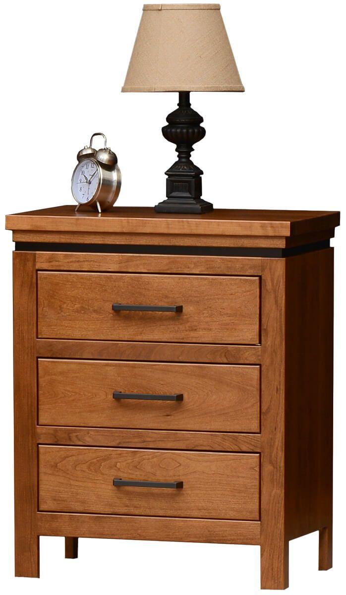 Avondale 3-Drawer Nightstand