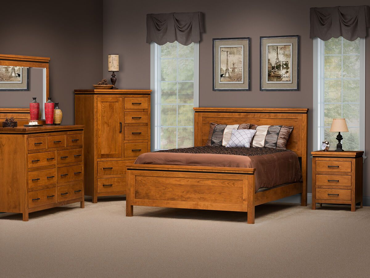 Avondale Amish Handcrafted Bedroom Set