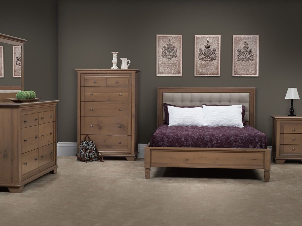 Cape Elizabeth Amish Handcrafted Bedroom Set