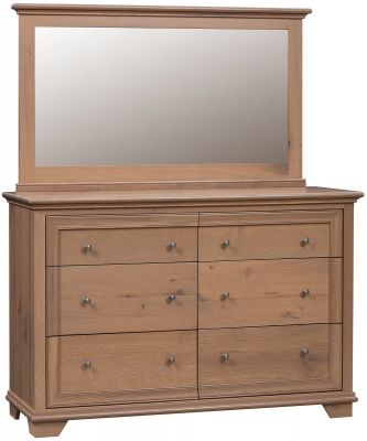 Cape Elizabeth 6-Drawer Dresser with Mirror
