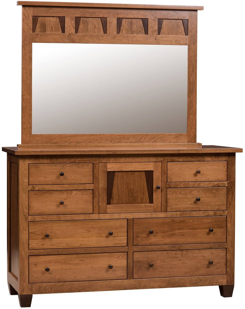 Clear Creek Mirror Dresser