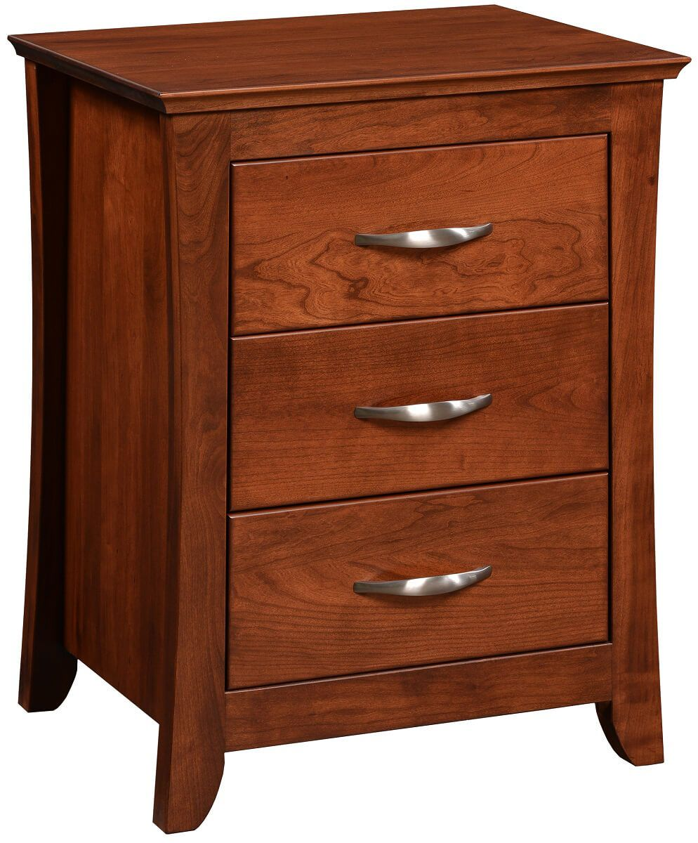 Fayette 3-Drawer Nightstand