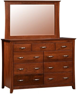 Fayette Tall Dresser with Mirror