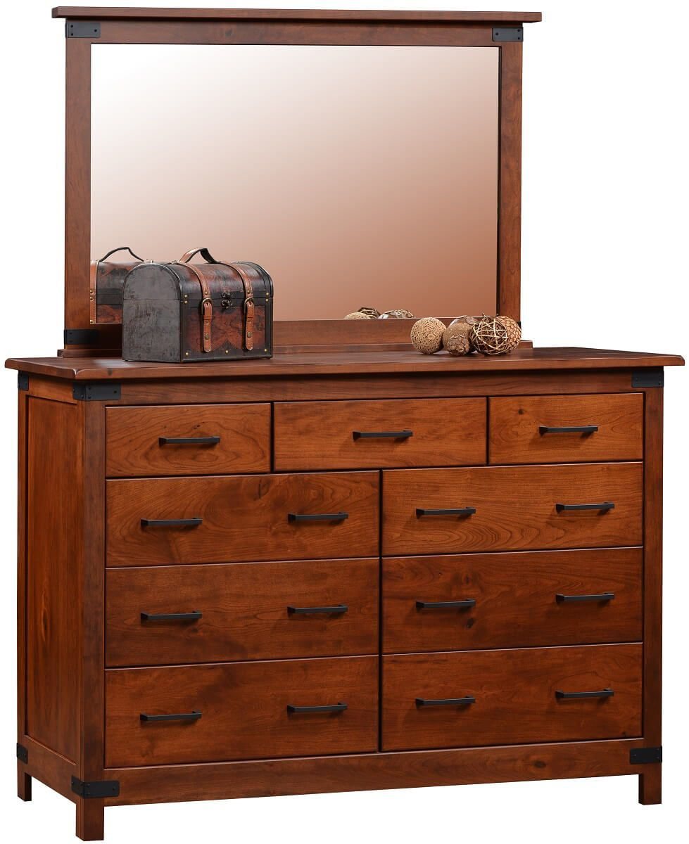 Meridian Dresser with Mirror