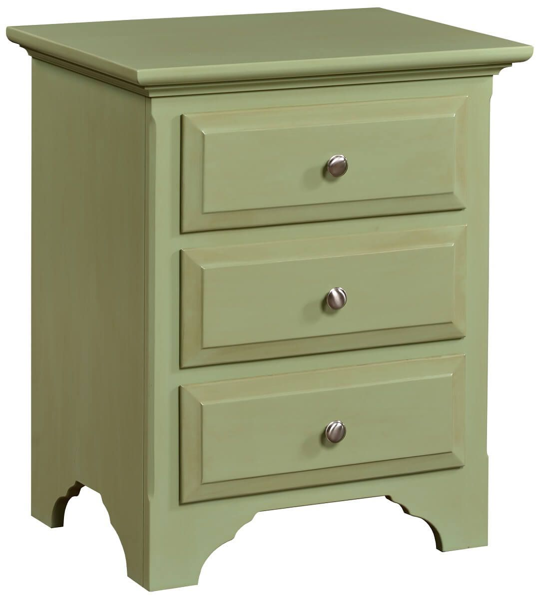 Montgomery 3-Drawer Nightstand