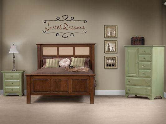 Montgomery Amish Handcrafted Bedroom Set