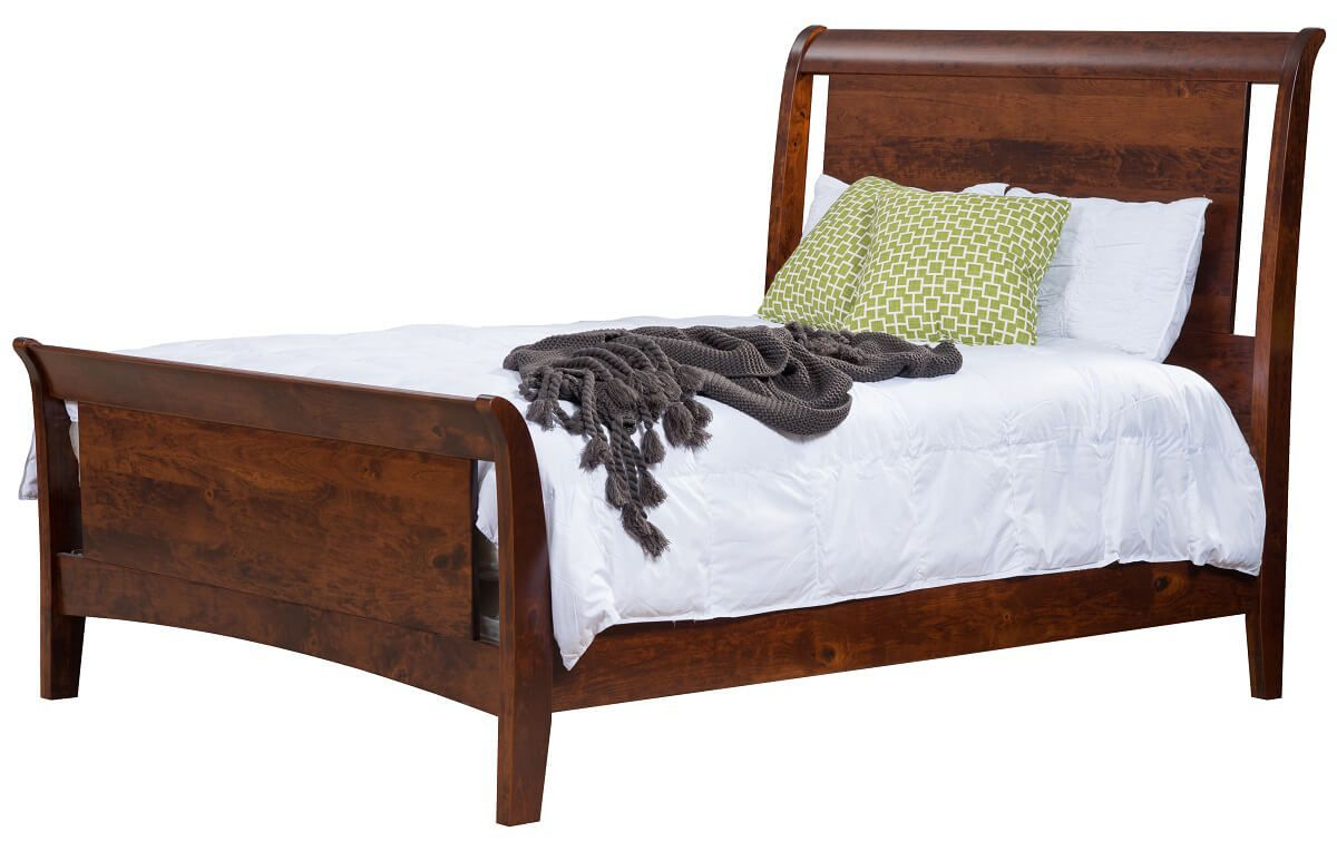 New Kent Sleigh Bed