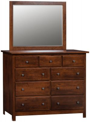 Spencer Dresser with Mirror
