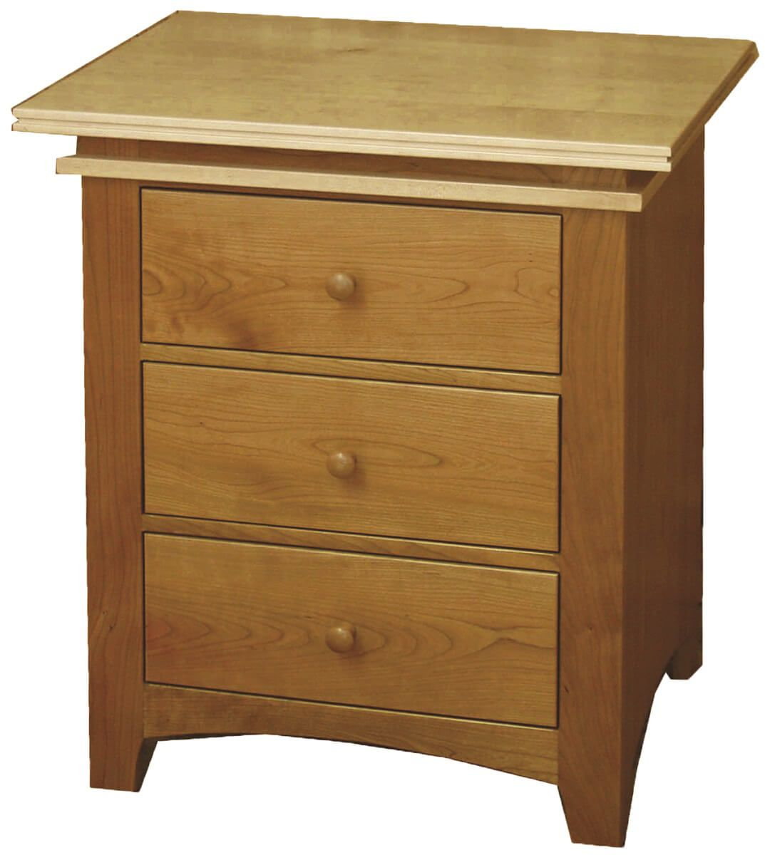 Sugar Creek 3-Drawer Nightstand