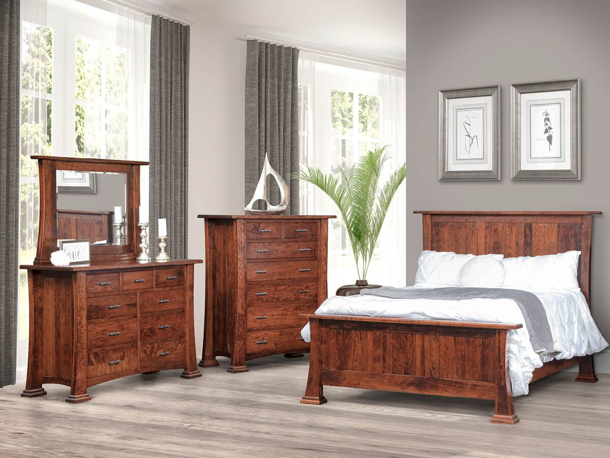 Cherry Bedroom Furniture Collection