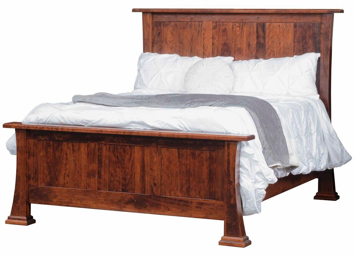 Cherry Panel Bed