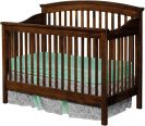 Cossette Crib in Brown Maple with Devonshire finish
