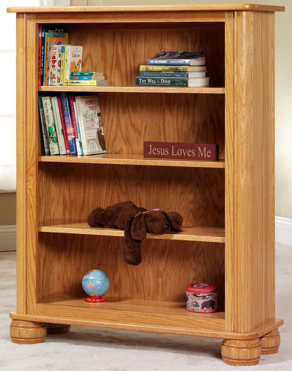 Geneva Amish Bookcase as the 4' model