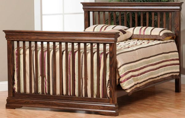 French Country full size bed