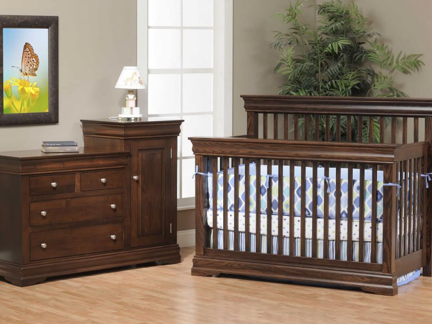 French Country Nursery Set Countryside Amish Furniture