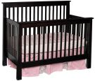 Madigan Slat Crib in Brown Maple