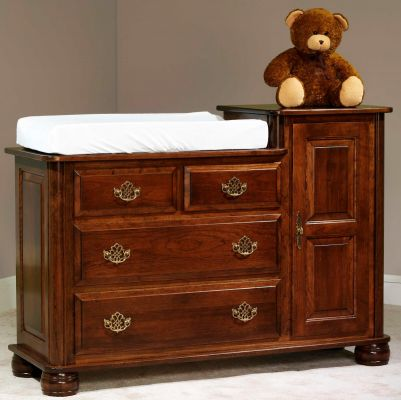 Prestige Hi Low Changing Table Countryside Amish Furniture