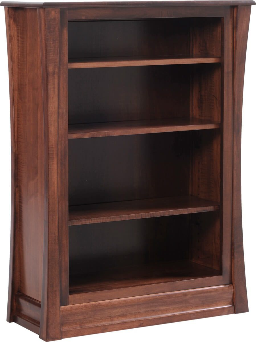 Rosewood Bookcase in Brown Maple
