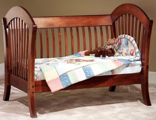 West Village Day Bed in Brown Maple and Christmas Cloves stain