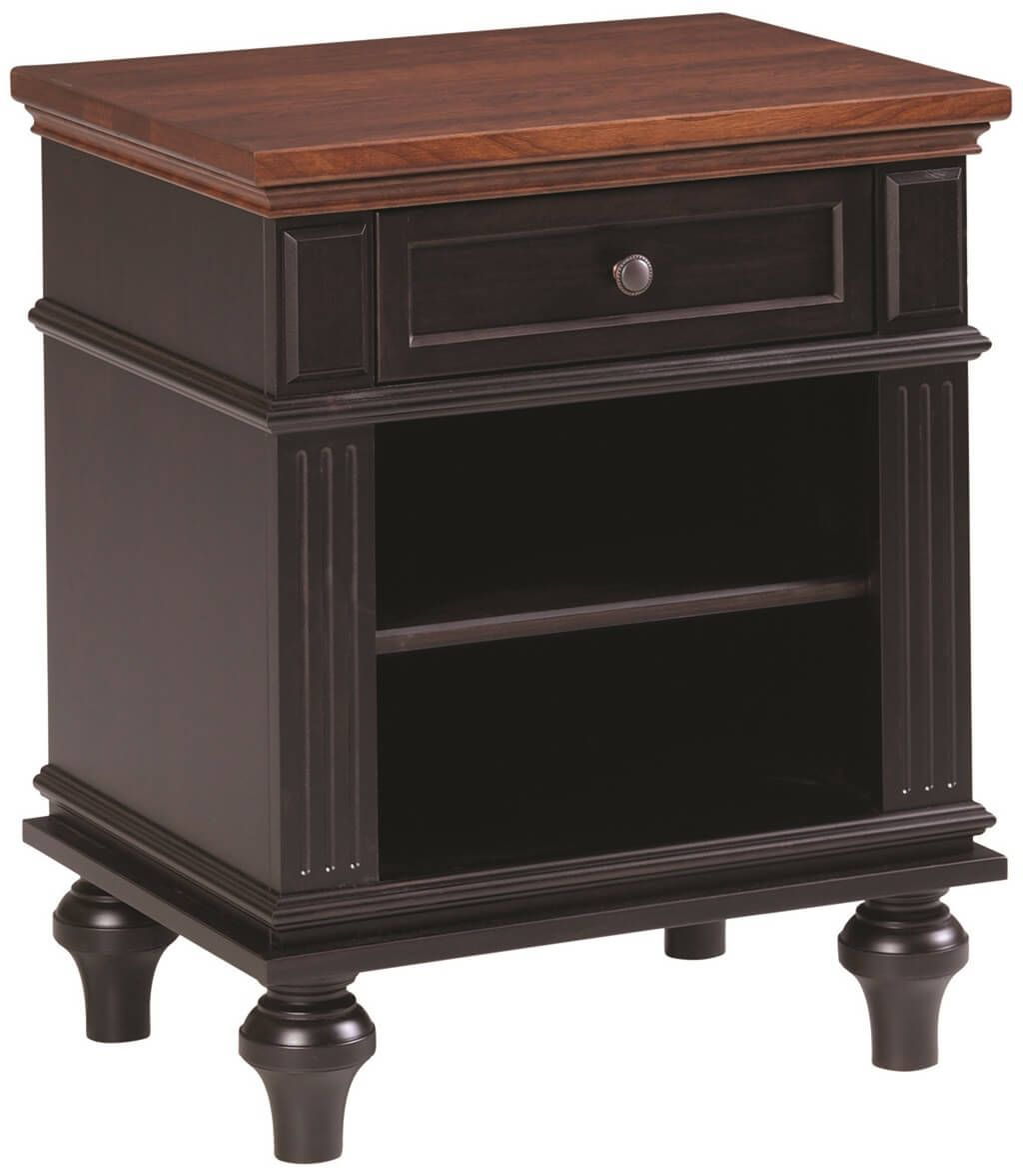 Alexandria 1-Drawer Nightstand