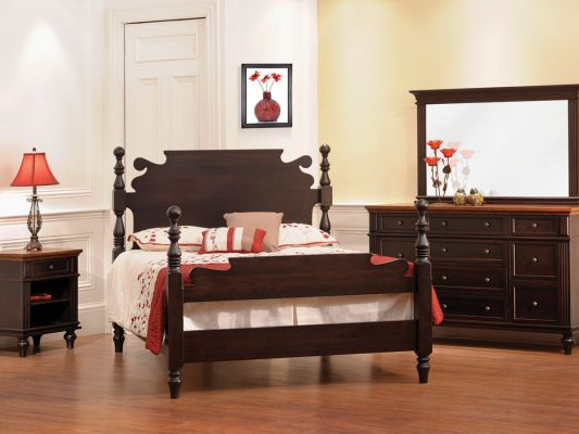 Alexandria Solid Wood Bedroom Collection