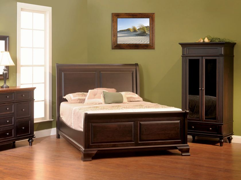 Alexandria Luxury Bedroom Set Countryside Amish Furniture