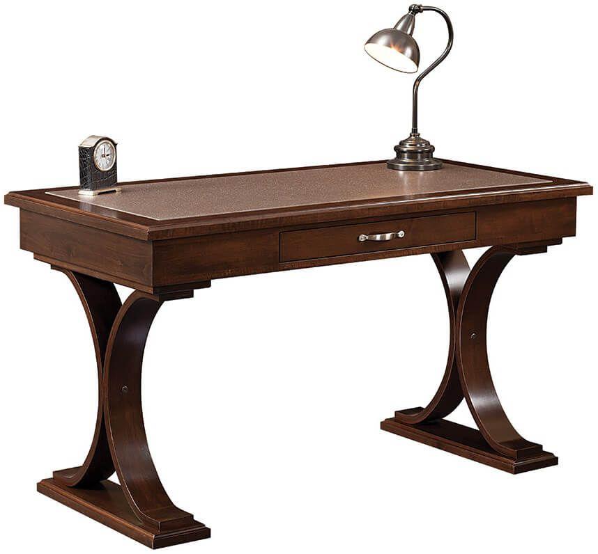 Bradbury Writing Desk in Brown Maple