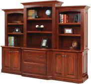 Cavalier Deluxe Executive Bookcase