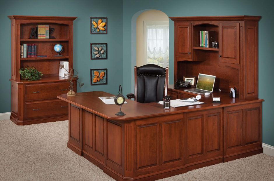 Cavalier Executive Luxury Office Set Countryside Amish