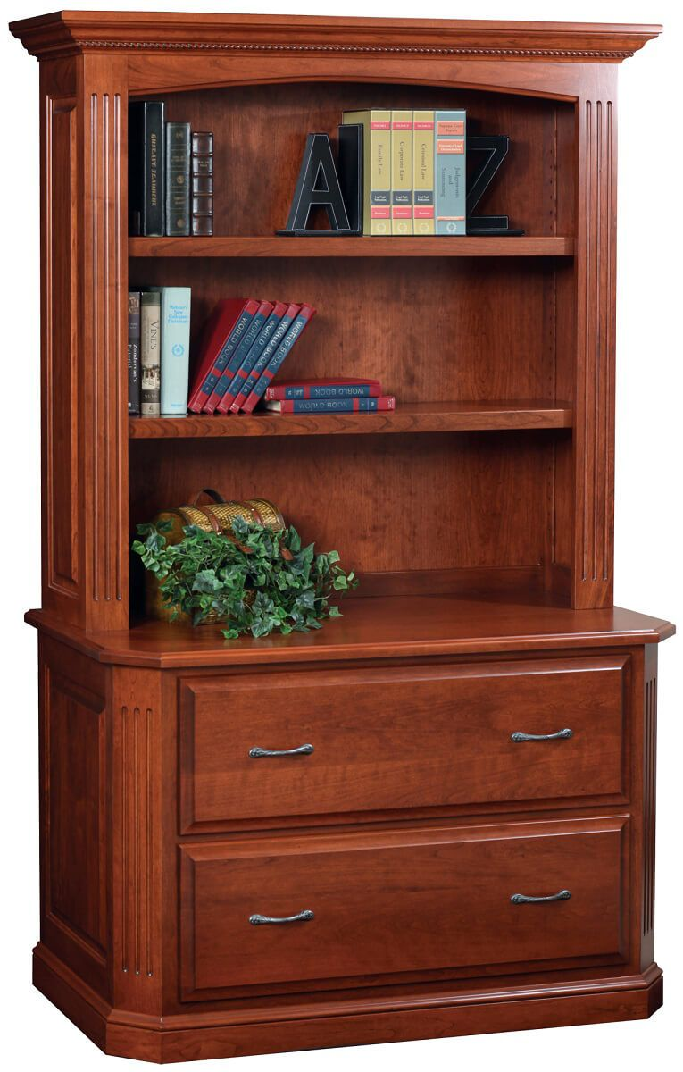Cavalier Lateral File and Bookshelf