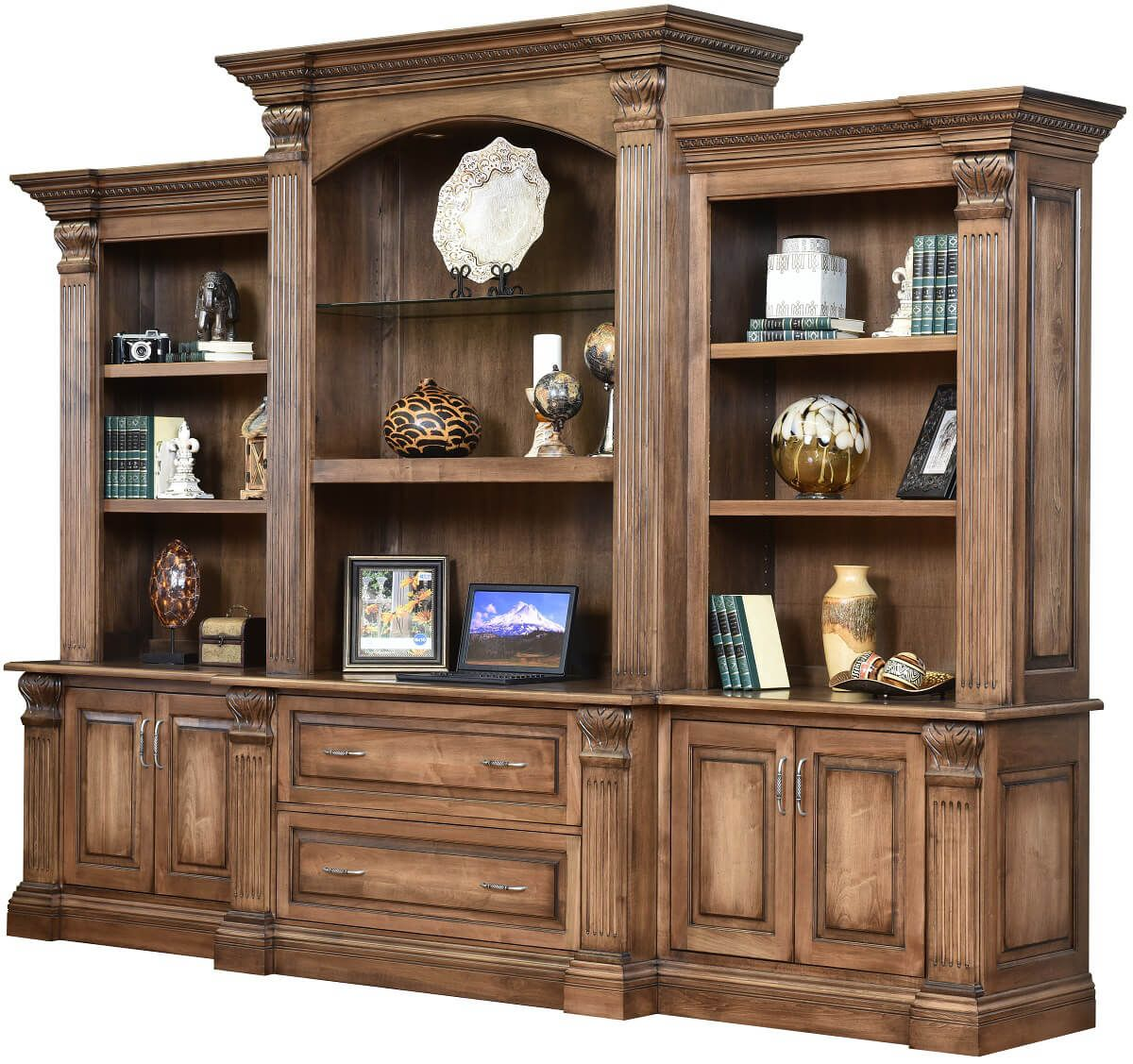 Fairbanks Bookcase Credenza