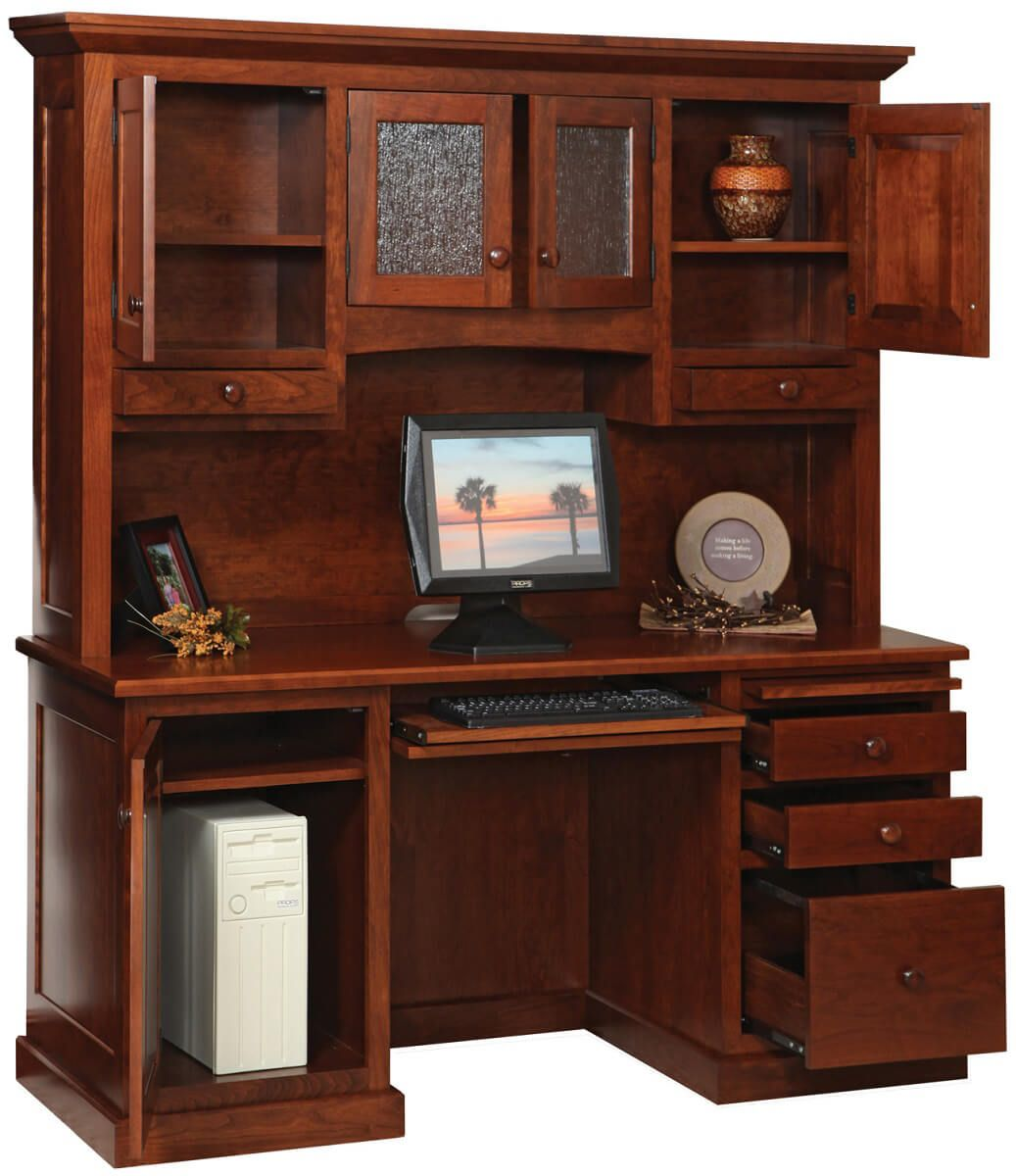 Handmade Wooden Computer Desk