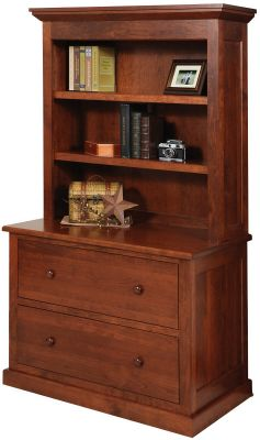 Hanover Lateral File and Bookshelf