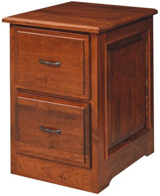 Irvine Solid Wood File Cabinet - Countryside Amish Furniture