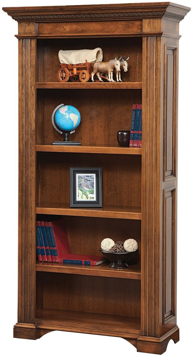 Lockwood Bookcase in Brown Maple