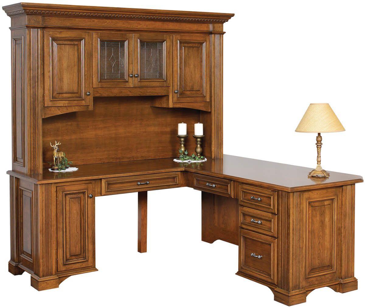 Lockwood L-Shaped Desk