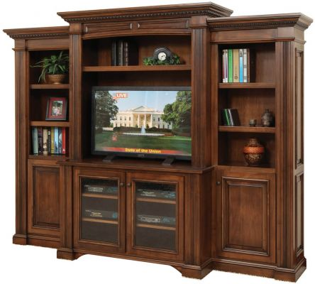 Lockwood Wall Entertainment Center