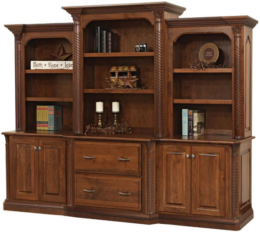 New Haven Executive Bookcase