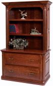 New Haven Lateral File Bookcase