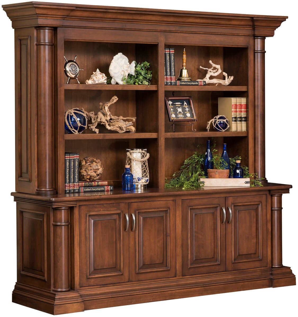 Newcastle Bookcase with Storage
