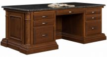Newcastle Executive Desk with Granite Top