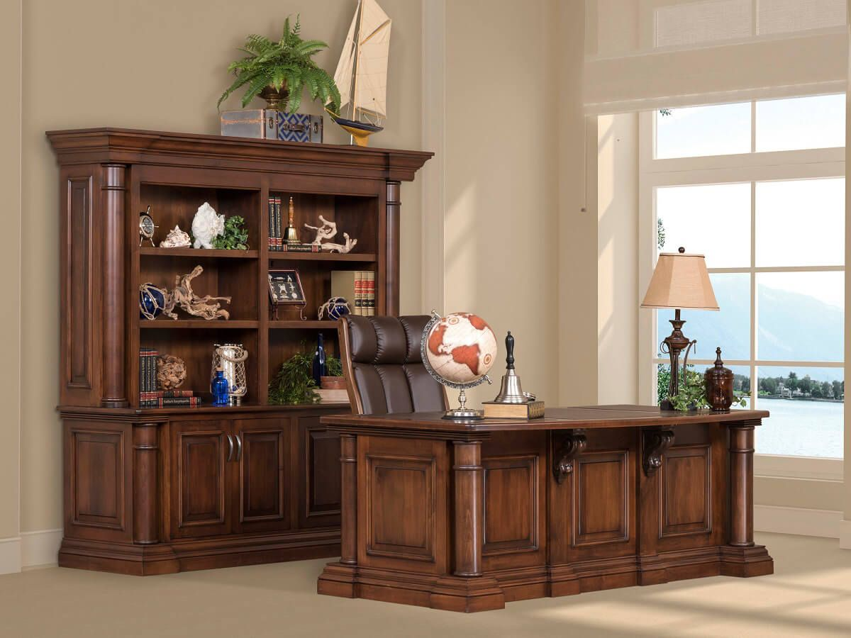 Hardwood Luxury Office Furniture