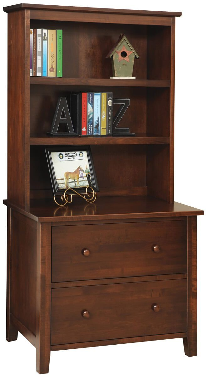 Rochester Lateral File with Bookshelf