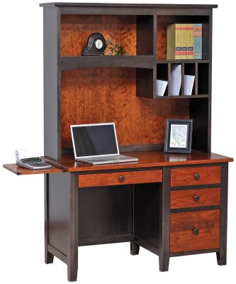 Rochester Work Station with Hutch