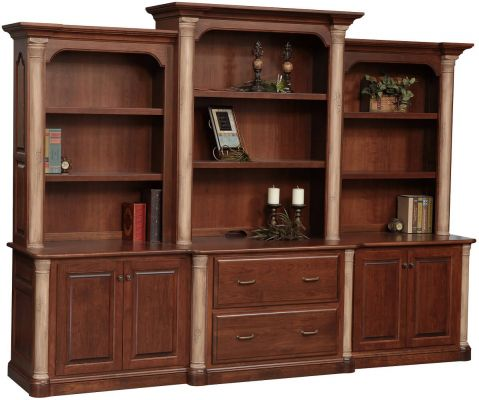 Vanderbilt Deluxe Executive Bookcase