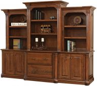 Vanderbilt Executive Bookcase