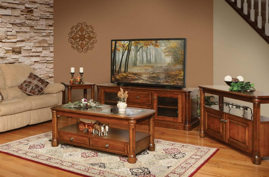 Vanderbilt Living Room Furniture Set Countryside Amish Furniture