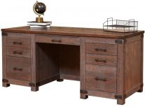 Cave Creek Rustic Executive Desk