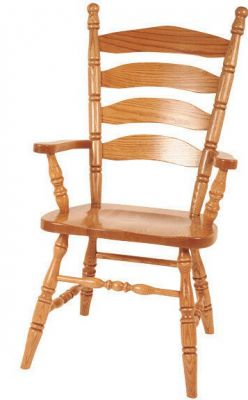 Charlestown Ladder Back Arm Chair