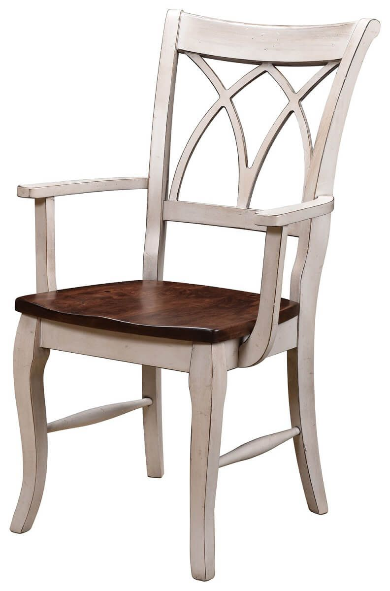Gastonia Cross Back Kitchen Chair - Countryside Amish Furniture